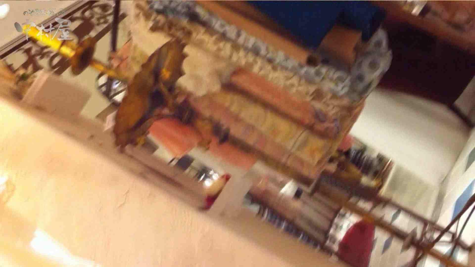 無修正おまんこ動画 vol.69 美人アパレル胸チラ&パンチラ ストライプパンツみっけ! のぞき本舗 中村屋
