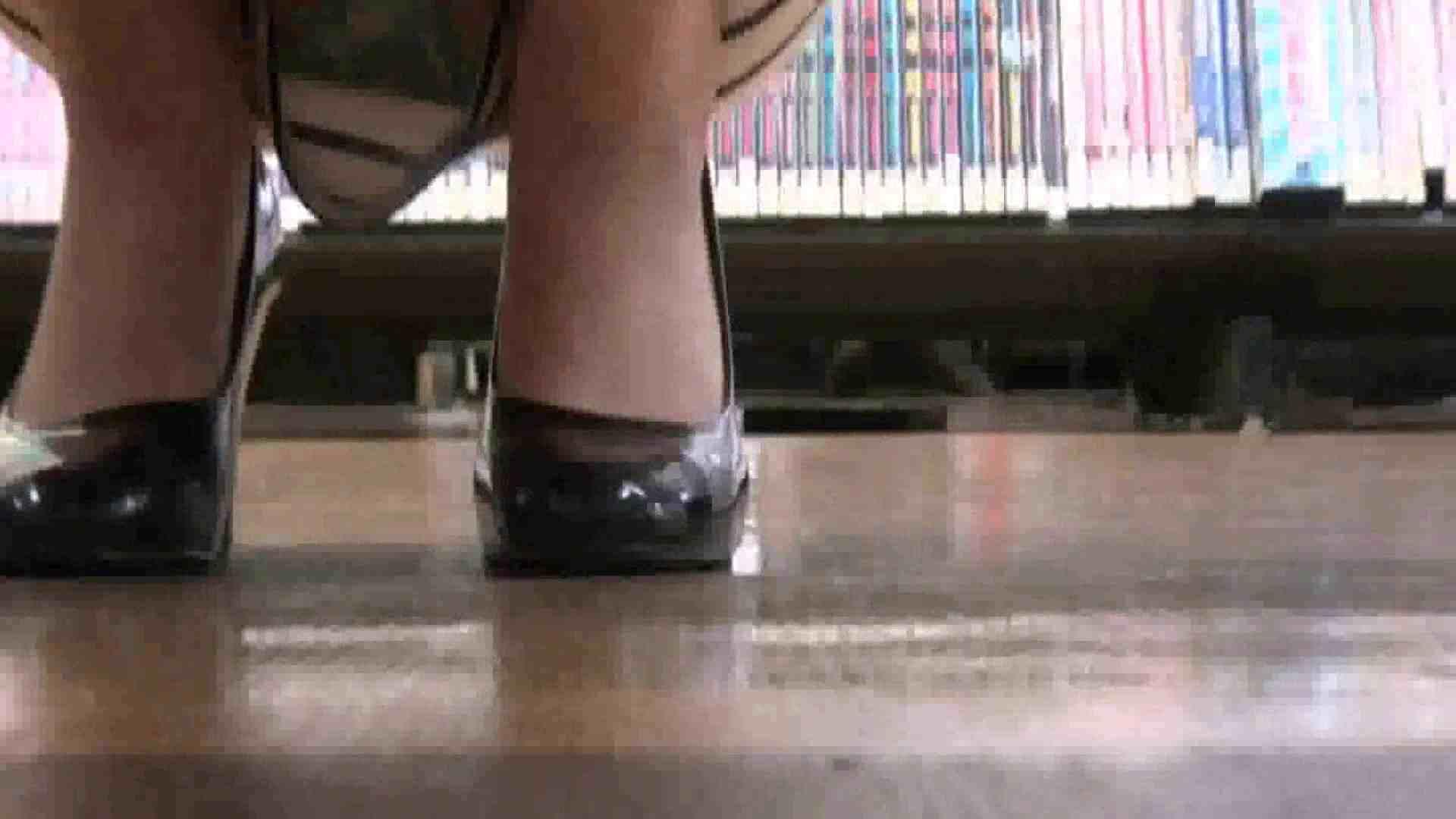 真剣に買い物中のgal達を上から下から狙います。vol.01